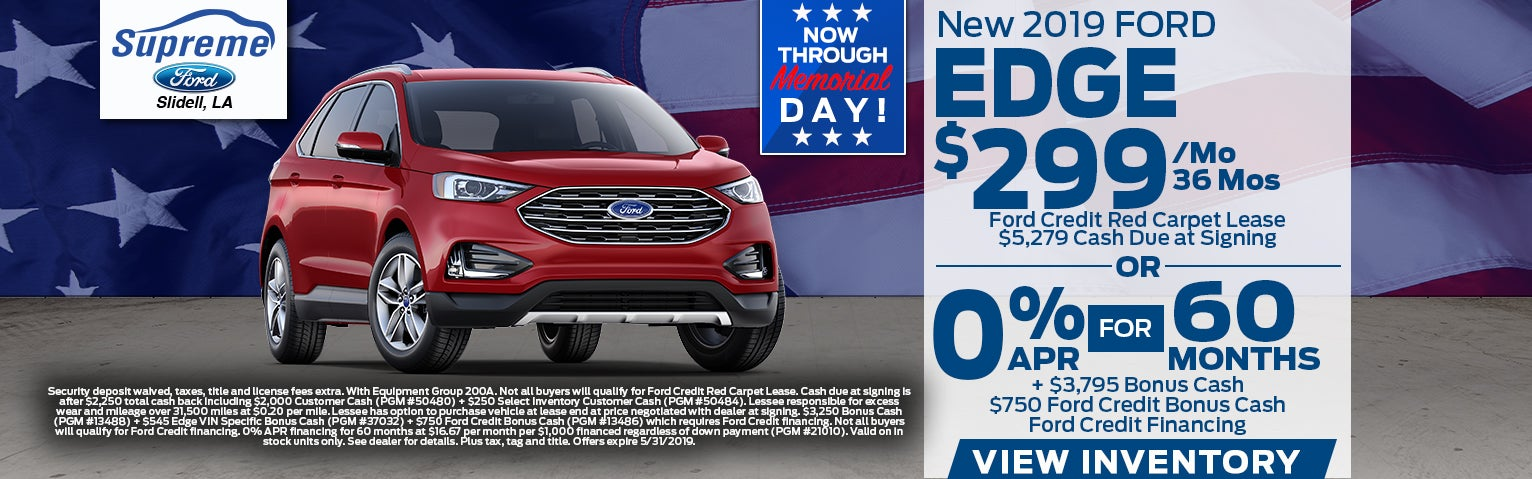 Supreme Ford New Used Ford Dealership In Slidell La Serving New