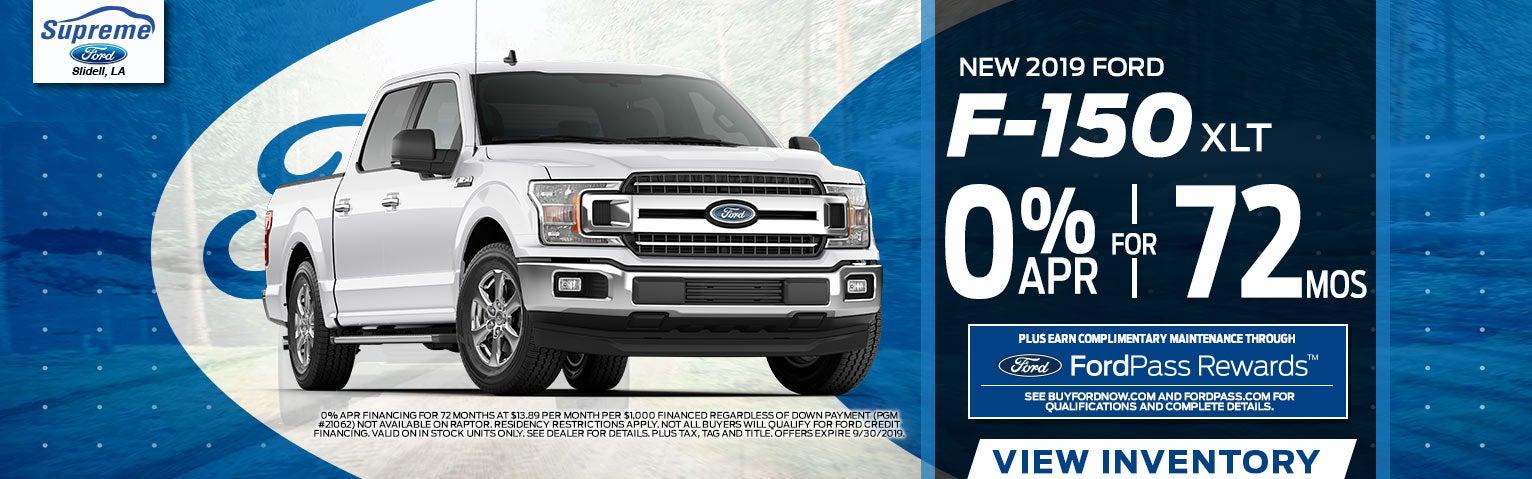Supreme Ford, New & Used Ford Dealership in Slidell, LA